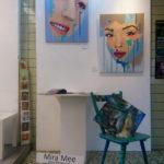 Atelier Mira-Mee mit Stuhl