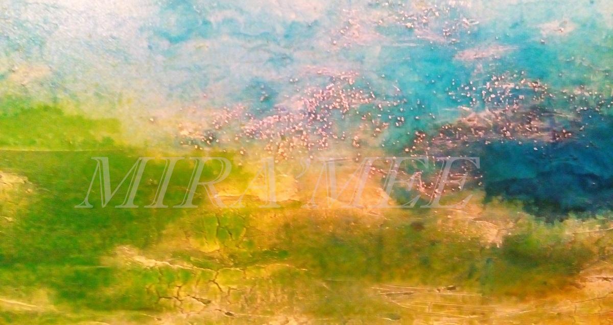 Abstrakt Aquarell Material-Mix